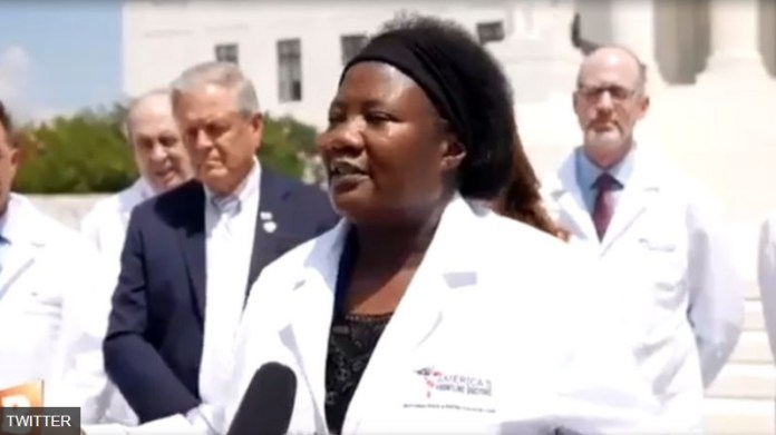 Image: Racist leftists attack, mock Dr. Stella Immanuel over her truth and passion to protect human lives against the evil, demonic forces behind Big Pharma