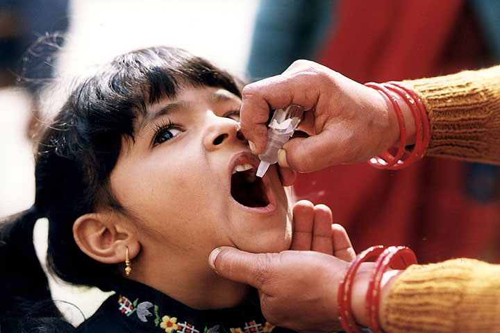 Image: New polio outbreak in Africa caused by WHO's oral polio vaccine