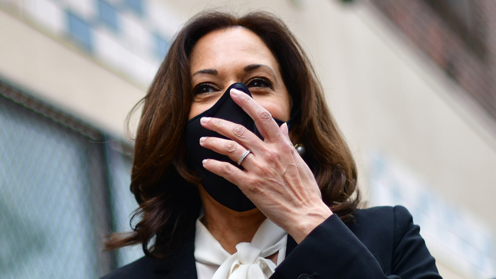 Image: Kamala Harris hates the First Amendment and loves abortion