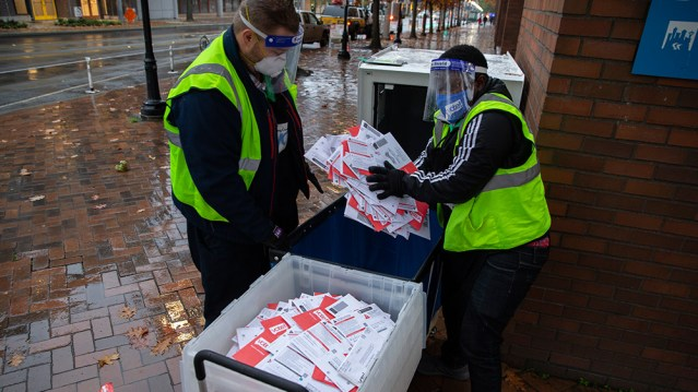 """Image: Another massive """"batch"""" of mystery ballots, all for Biden, added to Pennsylvania"""