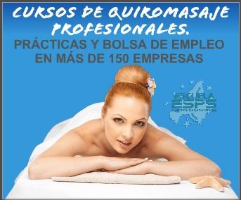 cursos de masaje en Coruña, Vigo, Pontevedra y Santiago de Compostela son ofrecidos en la escuela europea parasanitaria ESPS