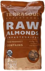 Terrasoul Raw Organic Almonds