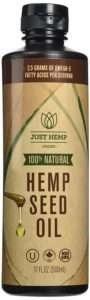 just hemp foods cold pressed hemp seed oil