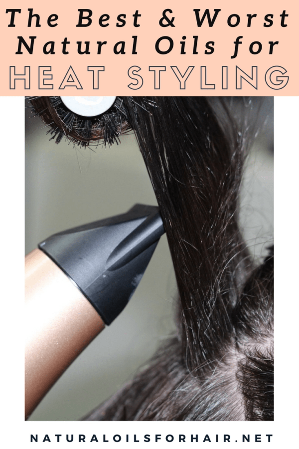 The Best and Worst Natural Oils for Heat Styling
