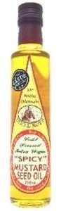 Uncle Roy's Cold Pressed Mustard Seed Oil