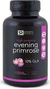 sports research evening primrose oil supplements