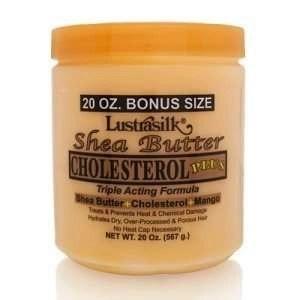 Lustrasilk Cholesterol + Shea Butter & Mango