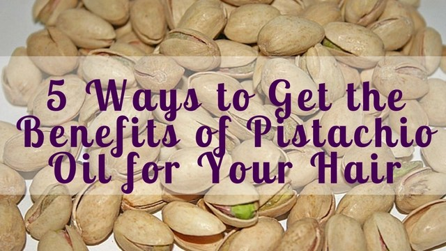how to use pistachio oil for hair
