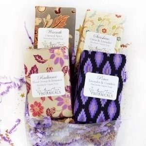 Organic Soap Gift Set - Lavender, Citrus & Spice Scents