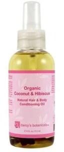 Darcy's Botanicals Organic Coconut & Hibiscus Conditioning Oil