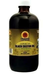 Castor oil spots