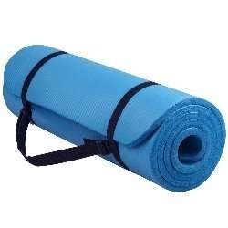 Balance From GoYoga All-Purpose 1_2-Inch Extra Thick High Density Anti-Tear Exercise Yoga Mat with Carrying Strap