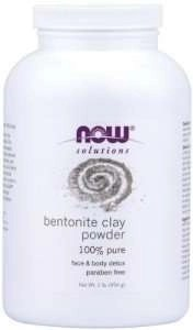 Now Foods solutions Bentonite Clay Powder