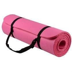 BalanceFrom GoYoga All-Purpose 1_2-Inch Extra Thick High Density Anti-Tear Exercise Yoga Mat with Carrying Strap