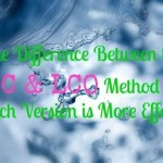 The Difference Between the LOC & LCO Method Plus Which Version is More Effective