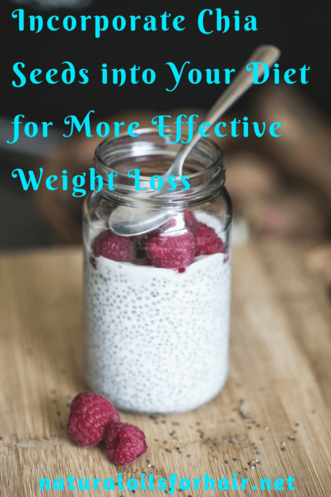 Incorporate Chia Seeds into Your Diet for More Effective Weight Loss