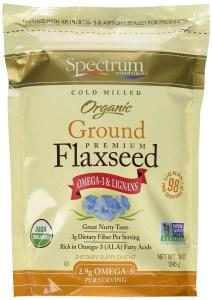spectrum essentials organic flax seed