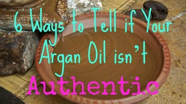6 Ways to Tell if Your Argan Oil isn't Authentic