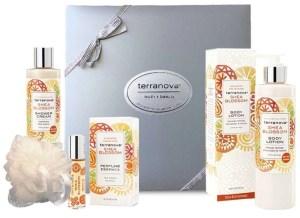 Terranova Shea Blossom Perfume, Shea Butter Moisture Lotion and Shower Gel Gift Set