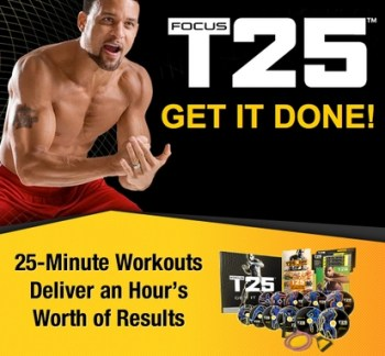 lose weight with focus t25