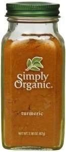 simply organic turmeric root powder