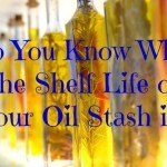 Do You Know What the Shelf Life of Your Oil Stash is?
