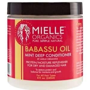 Mille Organics Babassu Oil & Mint Deep Conditioner
