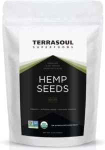 Terrasoul Superfoods Raw Hulled Hemp Seeds