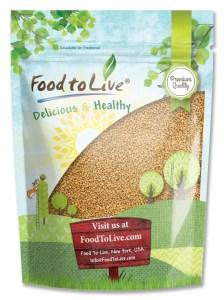 Food To Live Fenugreek Seeds
