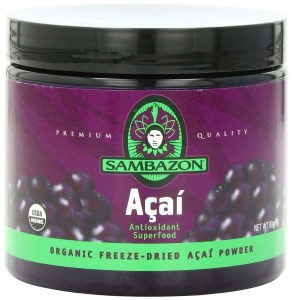 Sambazon Organic Freeze-Dried Acai Powder,