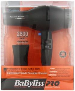 BaBylissPRO 2800 Super Turbo Hair Dryer