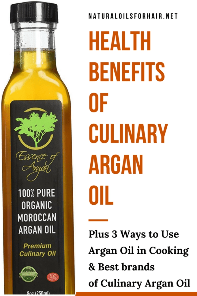 Health benefits of culinary argan oil and how to use it in cooking