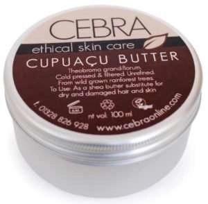 Cebra Ethical Skincare Cupuacu Butter
