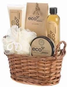 Eco Bath Body Gift Basket Set