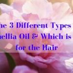 The 3 Different Types of Camellia Oil & Which is Best for the Hair