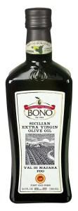 Bono Sicilian Certified PDO Val Di Mazara Extra Virgin Olive Oil