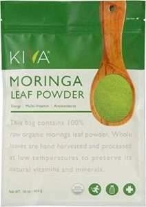 Kiva Organic Moringa Leaf Powder
