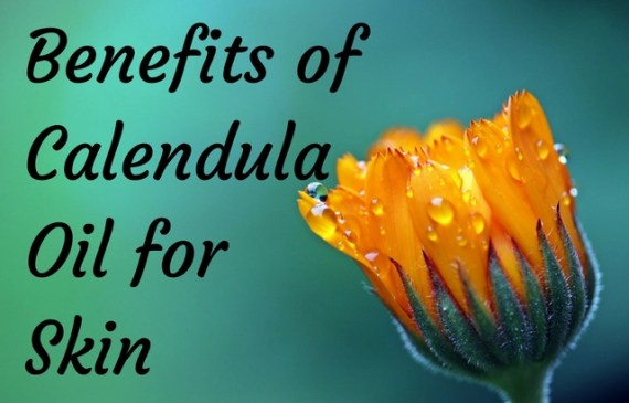 benefits of calendula oil for skin