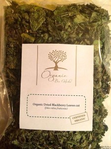 Organic Bio Herbs Blackberry Leaves