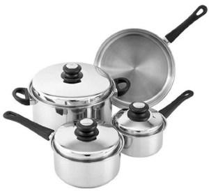 Tuxton Home Reno 7 Piece Cookware Set