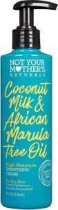 Not Your Mother's Naturals Coconut Milk & African Marula Tree Oil High Moisture Smoothing Cream