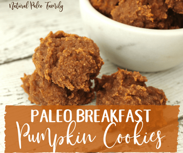 Paleo Breakfast Pumpkin Cookies {Recipe}