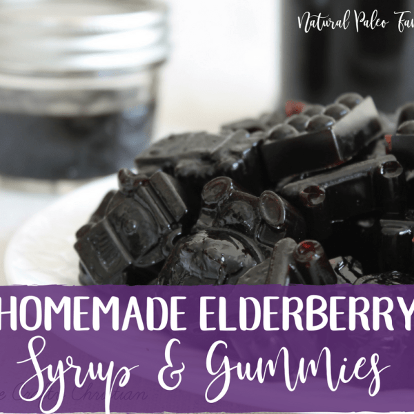 Beat the Flu with Homemade Elderberry Syrup & Gummies {Recipe}
