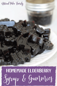 The winter season is always difficult. It seems like at least weekly, we have an event cancelled because someone has gotten sick. What I'm going to share with you today is my recipe for homemade elderberry syrup & elderberry gummies, sure to help you kick the flu this year!
