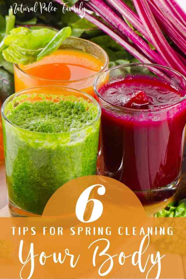 Detox is important, especially with chronic illness. These 6 tips for spring cleaning your body will help you to properly detox and facilitate healing!
