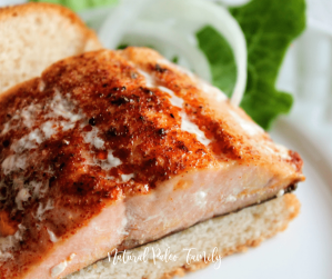 Salmon is an incredible nutritional powerhouse. It can be eaten many different ways, but this salmon sandwich is sure to be a crowd pleaser for your family!