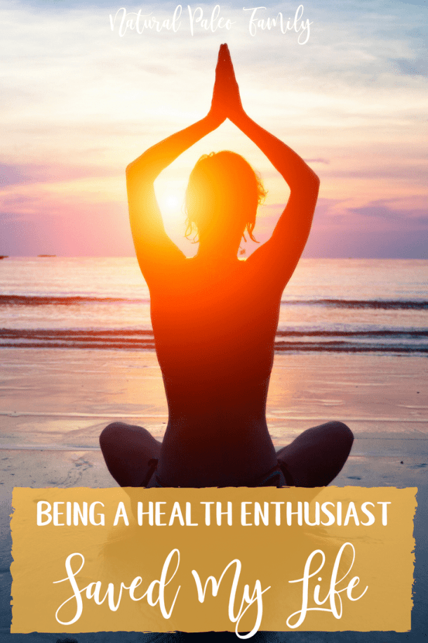 """I've been """"into health"""" ever since I was a little kid, learning what I could to heal from chronic illness. Being a health enthusiast saved my life!"""