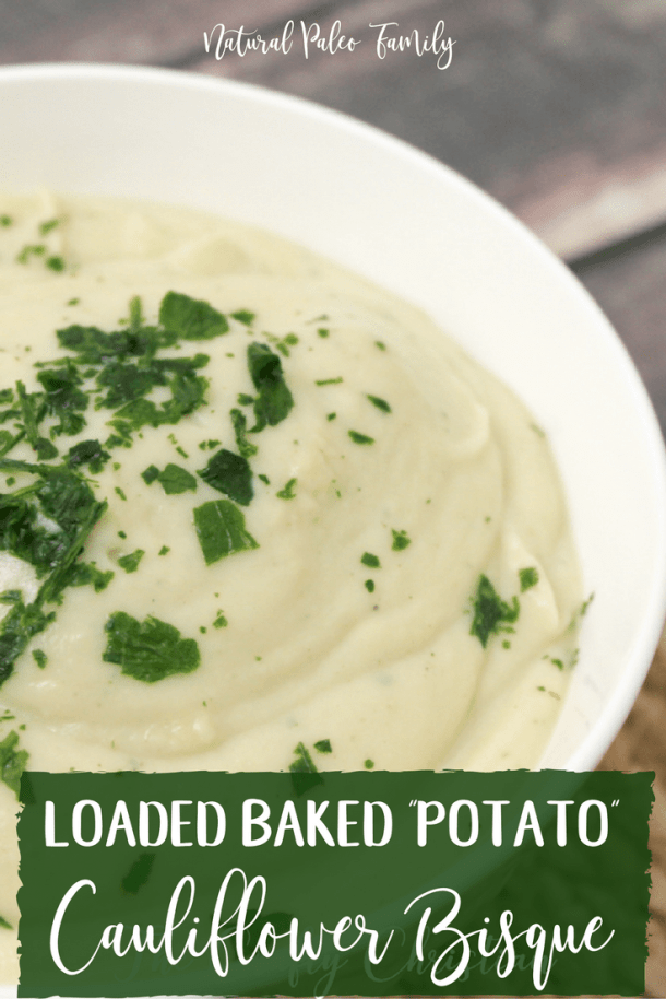 We all know how healthy soups can be, but what nobody ever seems to mention is how boring they can be. Often times, people miss eating creamy soups, and who wouldn't?  They are thick and delicious. I made this loaded baked