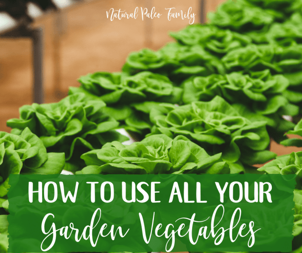 Tips for Using Garden Vegetables