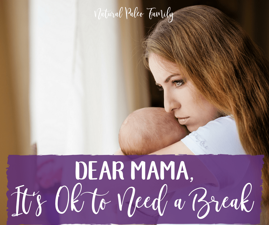 Dear Mama, It's Ok to need a break. I know that motherhood isn't exactly what you pictured.Even your wildest dreams couldn't prepare you for how intense everything is.